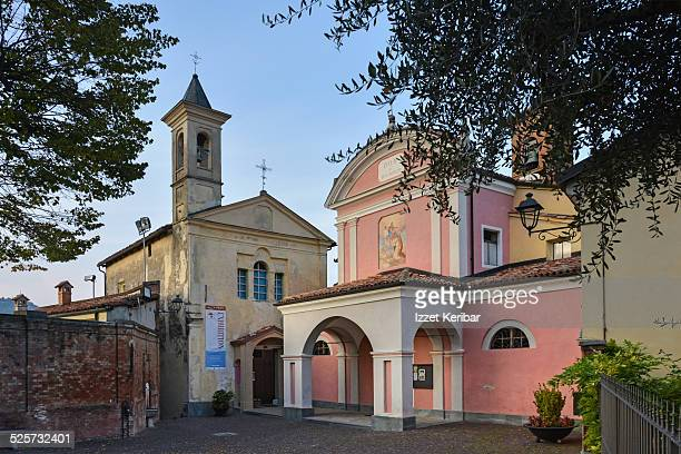 Piazza Falletti, Barolo, Langhe, Cuneo, Piemonte