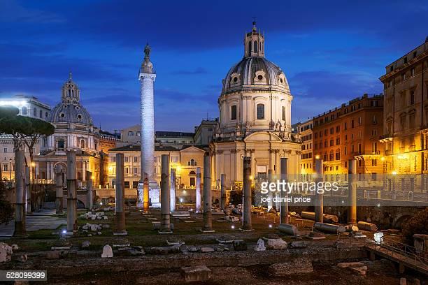 Piazza Foro Traiano, Roman Forum, Rome, Italy
