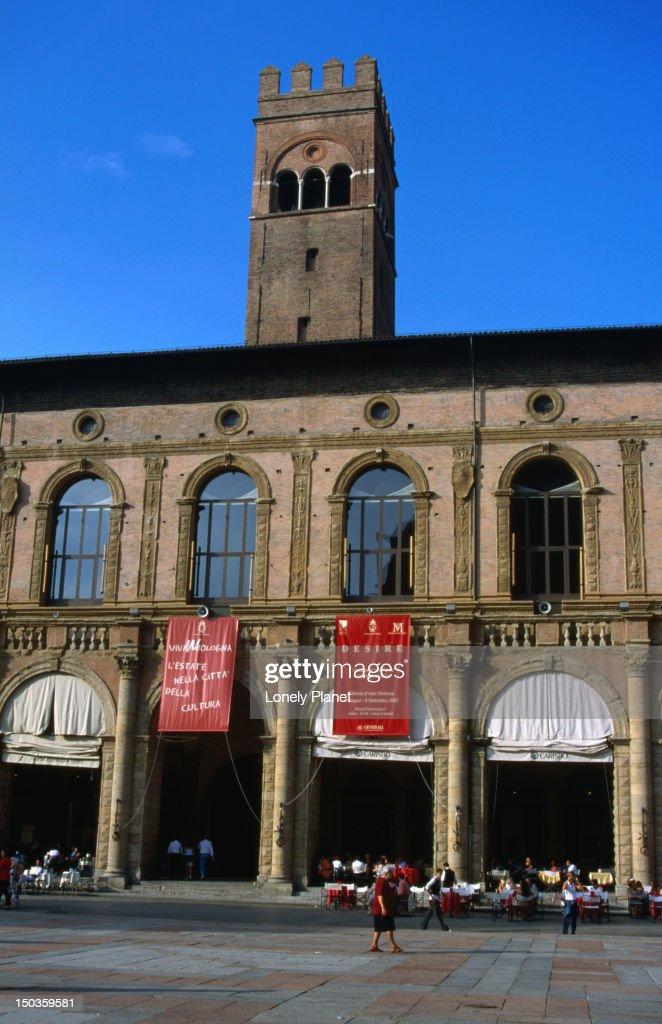 Piazza Maggiore. : Stock Photo