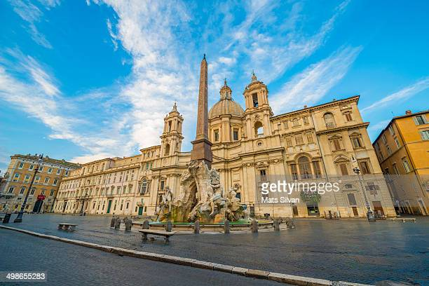 Piazza Navona in Rome Italy