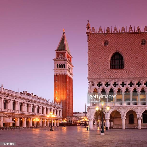 Piazza San Marco presso alba