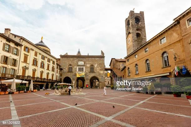 Piazza Vecchia Bergamo, Lombardy, Italy