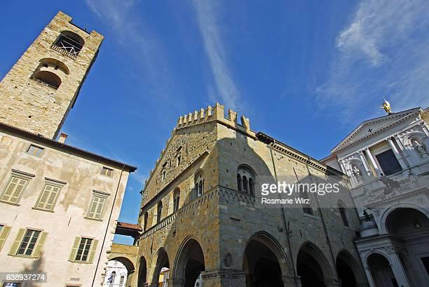 Piazzo del Duomo, Bergamo's medieval city center