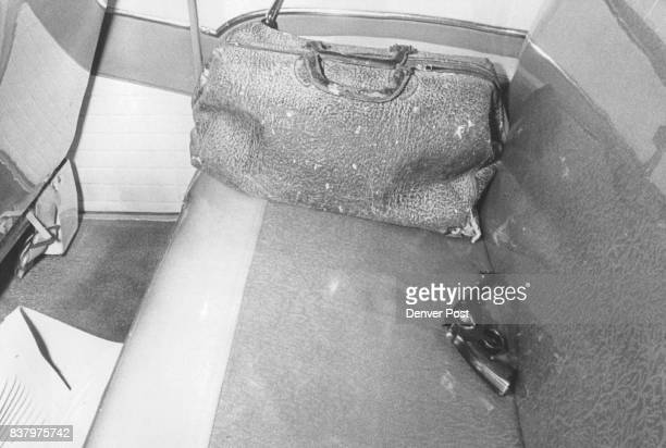 Pic No 7A 38caliber revolver lies on the back seat of the abandoned car at E Bayaud Ave and S Lincoln St Lincoln St Police said Major was slain with...