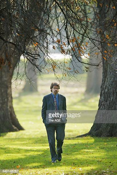 Pic shows internationally renowned author Jonathan Franzen in Melbourne on 26 May 2003 THE AGE A2 Picture by JASON SOUTH
