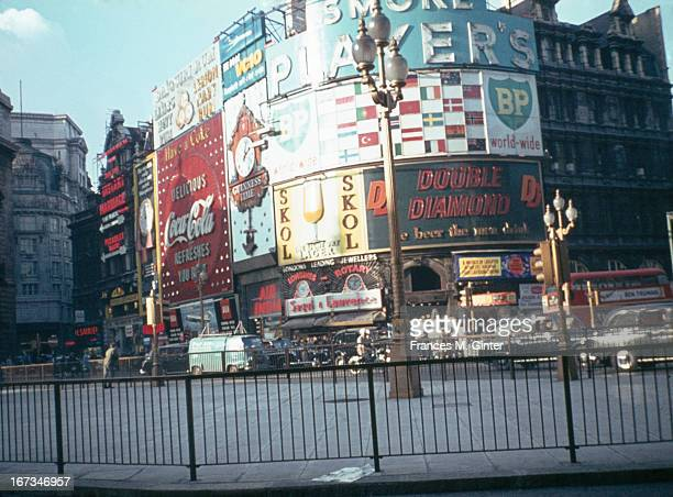 Piccadilly Circus London 20th July 1963