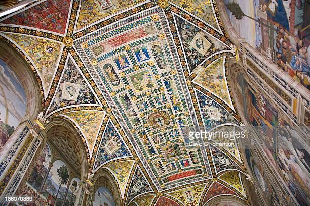 Piccolomini Library, Siena, Tuscany, Italy