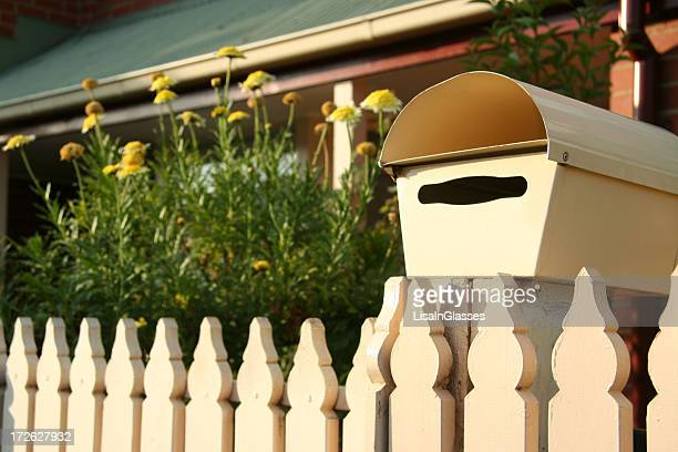 Picket Fence and Mailbox