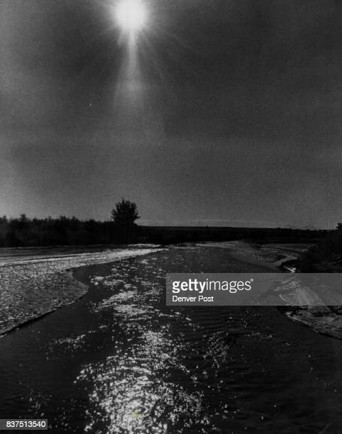 AUG 29 1966 AUG 31 1966 'Picketwire' Glistens in Colorado Waters of the Purgatoire River shine in the midafternoon sun as they head from the high...