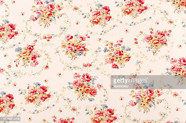 Pickford Swag Medium Antique Floral Fabric