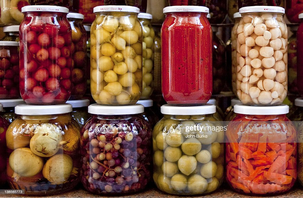 pickled vegetables : Stock Photo
