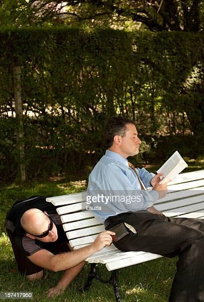 Carterismo en un parque