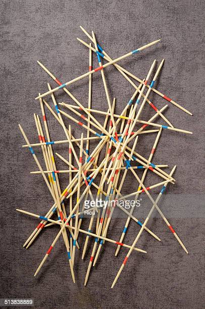 pick-up-sticks, mikado