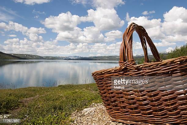 Picknick am See.