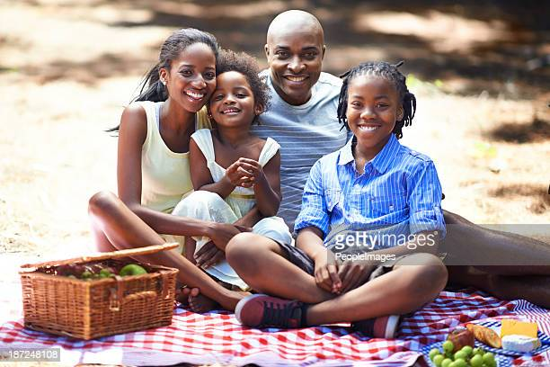 Picnic day for the family