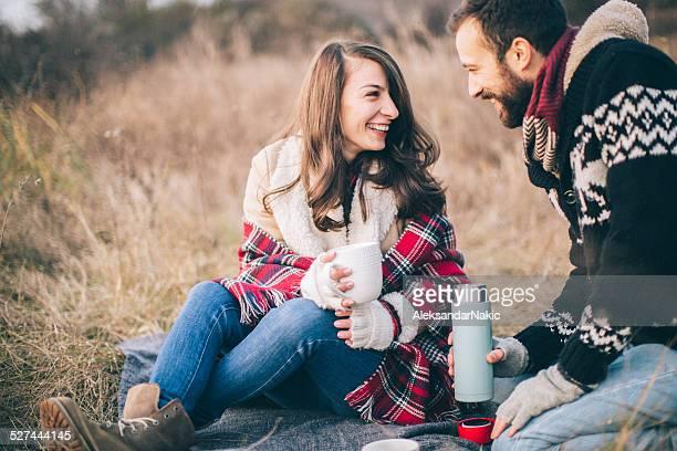 Picknick für zwei Personen