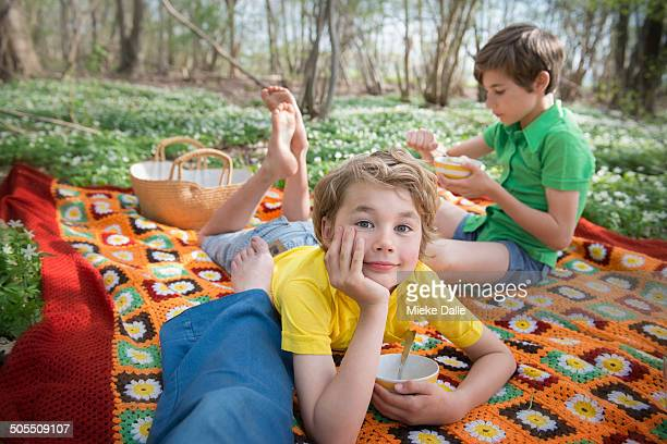 Picnic in the forest