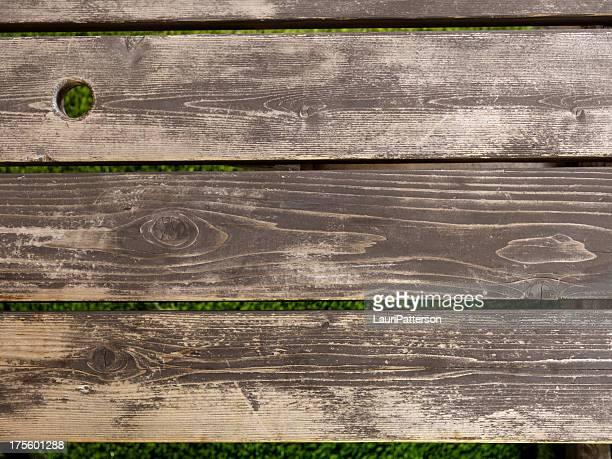 Picknick-Tisch im Hintergrund