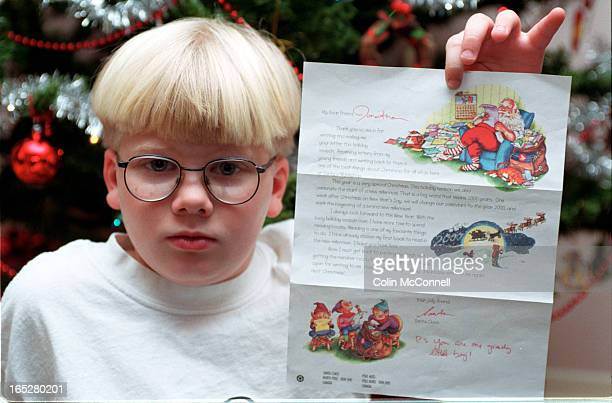 pics of jonathon comeau who was told by santacanada postthat he was agreedy little boy for asking for 32 items for christmasshots of him with various...
