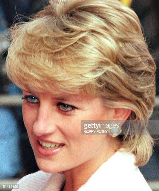 Picture dated 06 March 1996 of Diana Princess of Wales