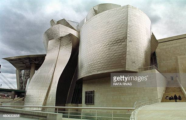 Picture dated 10 January 2001 shows the Guggenheim Museum in Bilbao The director of the museum Juan Ignacio Vidarte said that the red spots appearing...