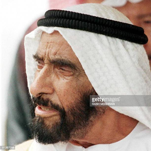 Picture dated 18 March 1997 shows United Arab Emirates President Sheikh Zayed Bin Sultan alNahyan The 82yearold Nahyan underwent a 'successful'...