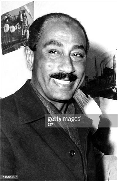 Picture dated February 1964 of Egyptian VicePresident Anwar elSadat Sadat became president in October 1970 and sought settlement of the conflict with...