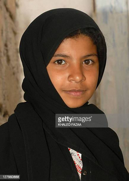 A picture dated July 8 2008 shows Yemeni child bride Nojud Ali at her family's house in the suburbs of Sanaa Nojud who broke tribal tradition earlier...