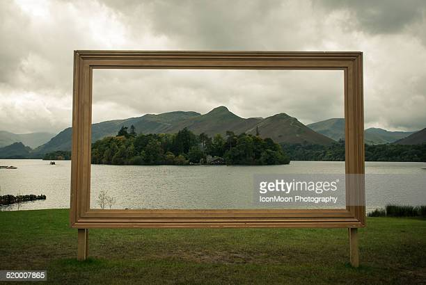 Picture frame in real life