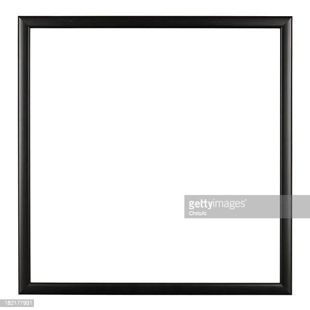Cornice per foto isolato su bianco