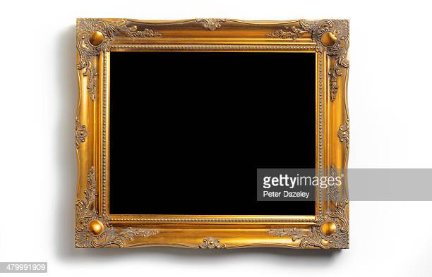 Picture frame with black copy space