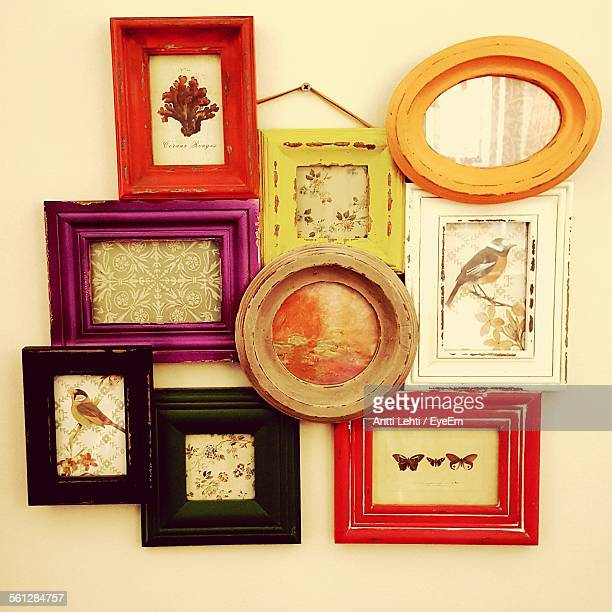 Picture Frames On Wall At Home