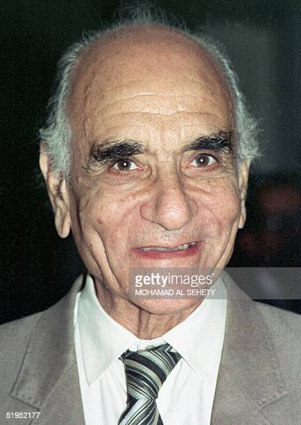 Picture from the 1990s shows leading Egyptian film director Kamal elSheikh who celebrated his 80th birthday in 1999 Among his finest productions...
