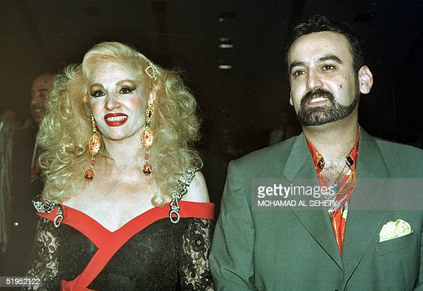 Picture from the late 9os shows famous Lebanese singer Sabah and her young husband Fadi Libnan in Cairo Sabah established her panArab fame in the...