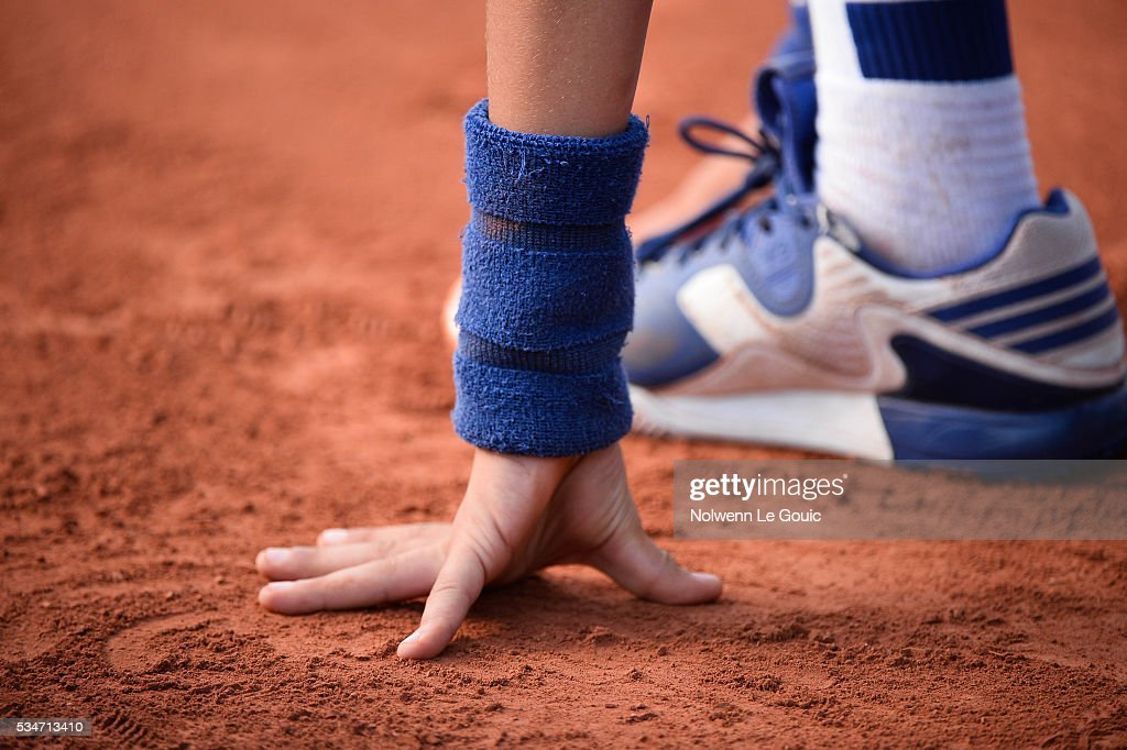 Picture illustration taken during the Women's Singles third round on day six of the French Open 2016 at Roland Garros on May 27, 2016 in Paris, France.