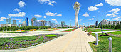 Baiterek landmark, symbol of Astana, capital of Kazakhstan.