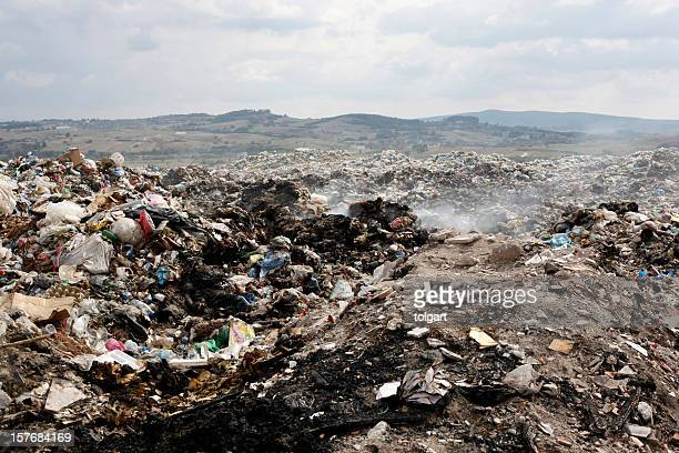 A picture of a big pile of garbage