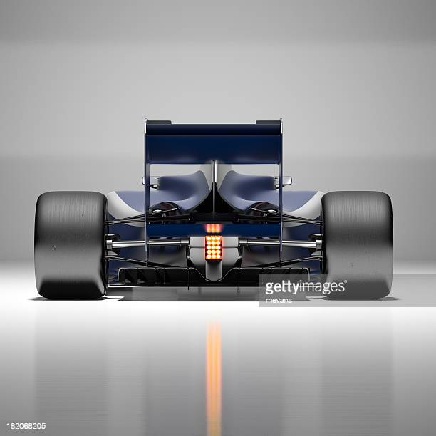 Picture of a futuristic racing car