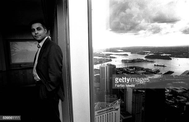 Picture of Ahmed Fahour Vice President Of Boston Consulting Group 5 July 2000 AFR Picture by VIRGINIA STAR