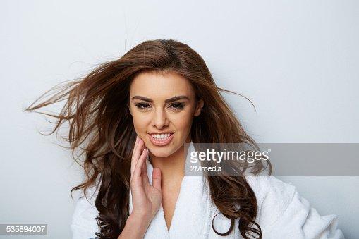 picture of beautiful woman : Bildbanksbilder
