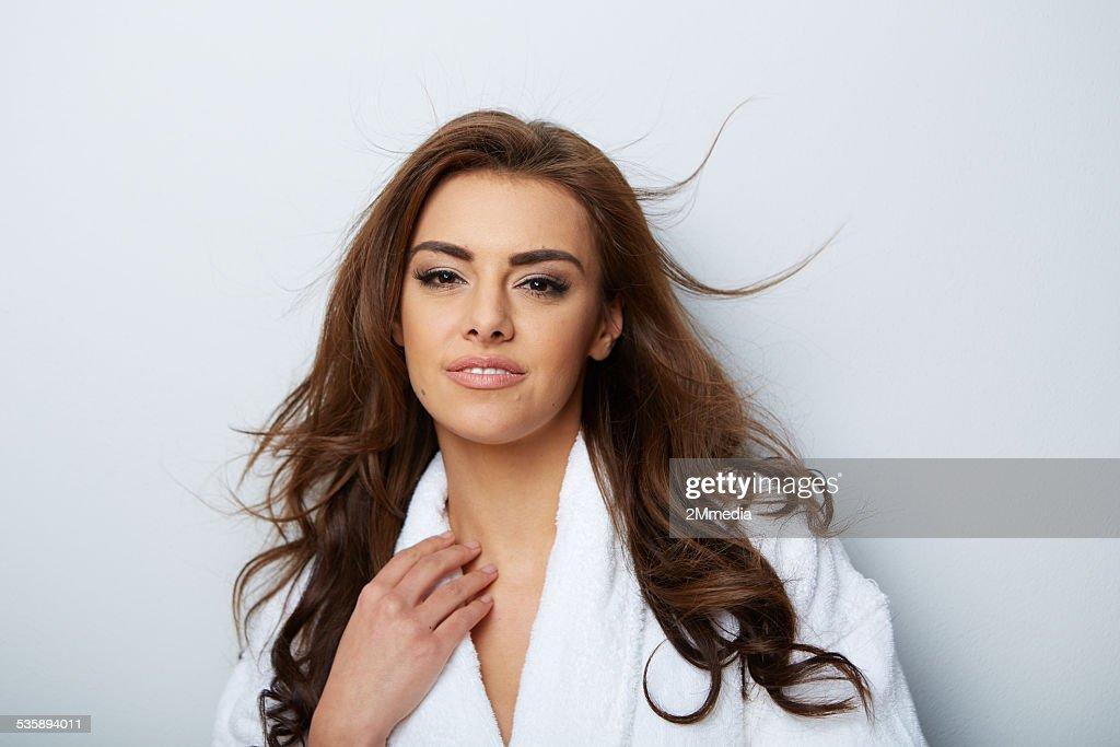 Bild der schönen Frau : Stock-Foto