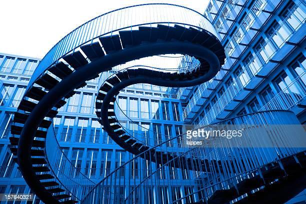 Abstrakte Treppe