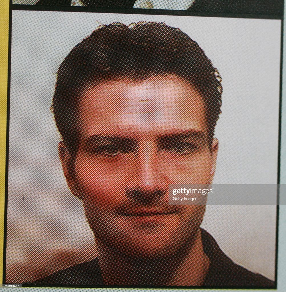 UNSPECIFIED A picture of Jerome Kerviel is seen in a 2001 electoral leaflet where he was standing as a UMP candidate for election to the local...