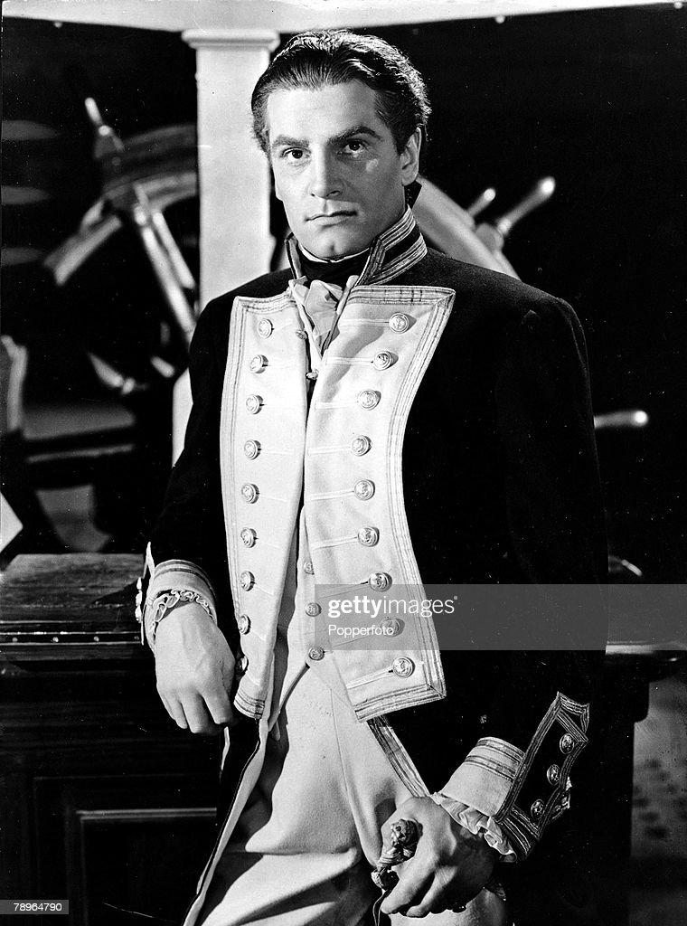 The Book, Volume 1, Page, 40, Picture, 6, 1941, A picture of legendary British actor Sir, Lawrence Olivier cast as Admiral Lord Horatio Nelson in the film 'That Hamilton Woman'