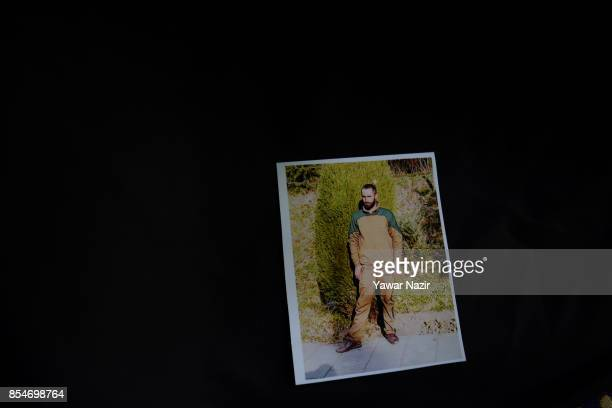 A picture of Manzoor Ahmad who has been missing since August 31 after he and his neighbour Nasrullah Khan were detained by the Indian Army on...