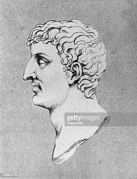 A picture of Mark Antony the Roman politician soldier and general who was married to Cleopatra