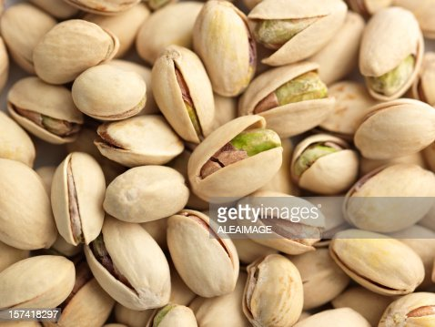 A picture of pistachio nuts ready to eat