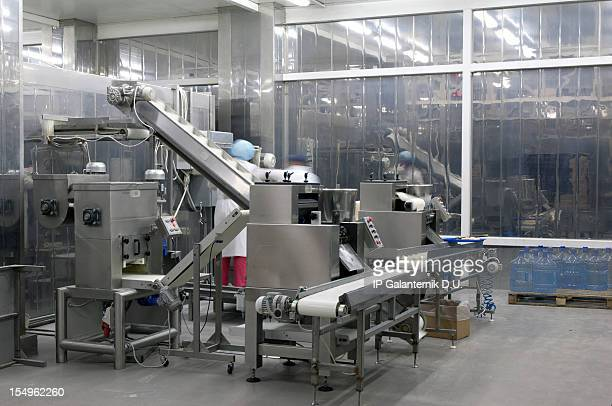 Produktion im food factory.