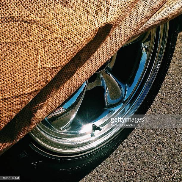 Tableau de bord de voiture et couverture