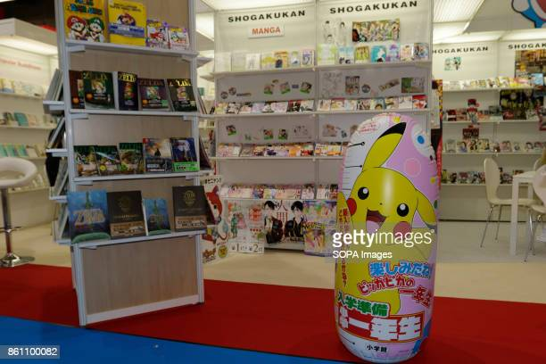 FRANKFURT FRANKFURT HESSE GERMANY Picture of the booth of the Japanese publishing company Shogakukan at the Frankfurt Book Fair The Frankfurt Book...